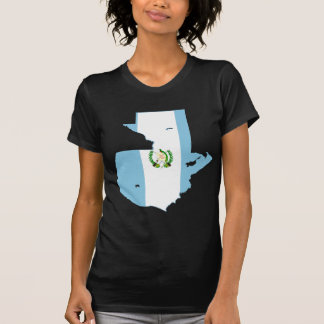 Guatemala Flag Map GT T-Shirt