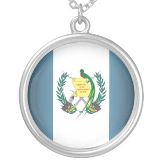 """Guatemala Flag"" Necklace"