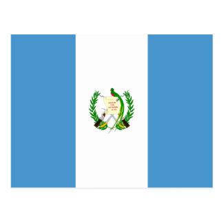 Guatemala Flag Postcard