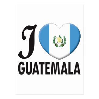 Guatemala Love Postcard