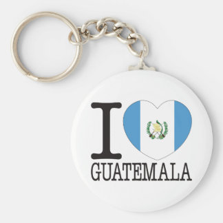 Guatemala Love v2 Key Ring