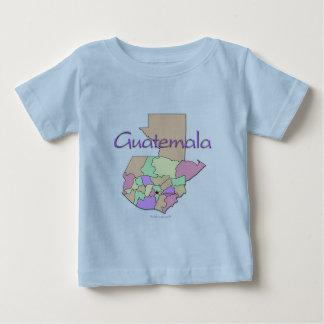 Guatemala Map Baby T-Shirt