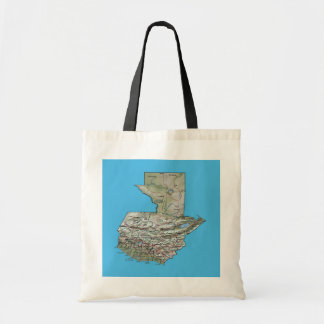 Guatemala Map Bag