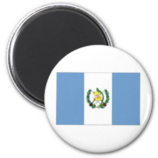 Guatemala National Flag and Naval Ensign 6 Cm Round Magnet