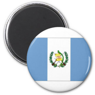 Guatemala National Flag and Naval Ensign Refrigerator Magnets