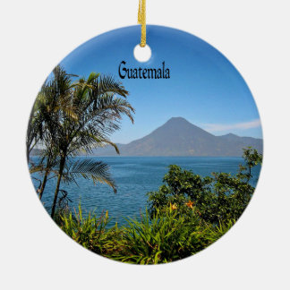 Guatemala, Nature's Beautiful Landscape Christmas Ornament