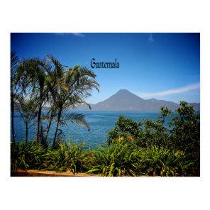 Guatemala, Nature's Beautiful Landscape Postcard