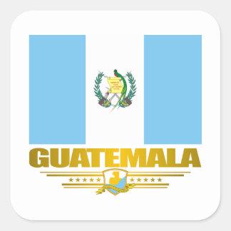 Guatemala Pride Square Sticker