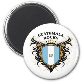 Guatemala Rocks Magnet