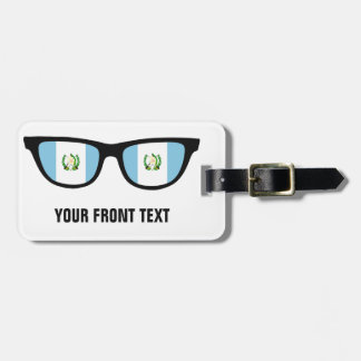 Guatemala Shades custom luggage tag