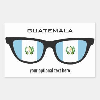 Guatemala Shades custom stickers