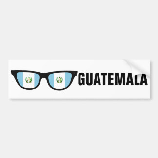 Guatemala Shades custom text & color bumpersticker Bumper Sticker