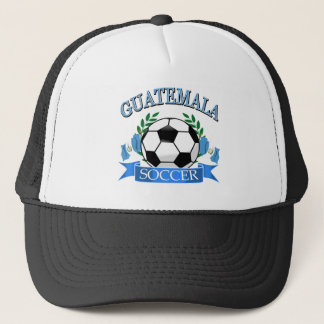 Guatemala soccer ball designs trucker hat