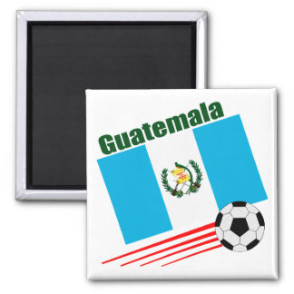 Guatemala Soccer Team Square Magnet