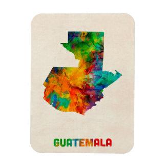 Guatemala Watercolor Map Magnet