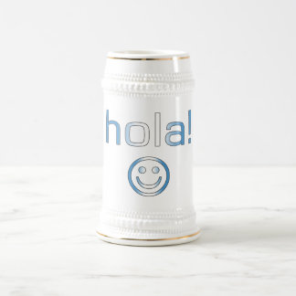 Guatemalan Gifts : Hello / Hola + Smiley Face Beer Steins