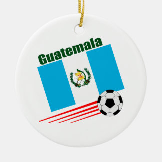 Guatemalan Soccer Team Christmas Ornament