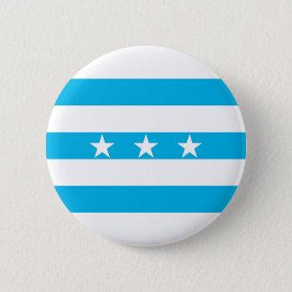 Guayaquil city flag Ecuador symbol 6 Cm Round Badge