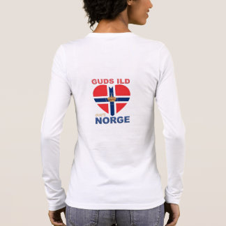 GUDS ILD OVER NORGE LONG SLEEVE T-Shirt