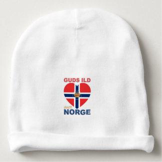 GUDS ILD OVER NORGE Norwegian Baby Beanie