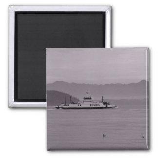 Guemes Island Ferry Fridge Magnet