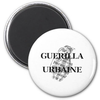 Guerilla Urbaine 6 Cm Round Magnet