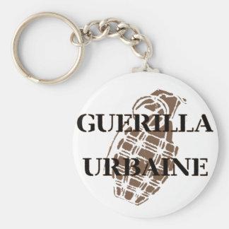 Guerilla Urbaine Basic Round Button Key Ring