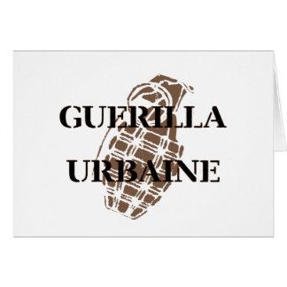Guerilla Urbaine Greeting Card