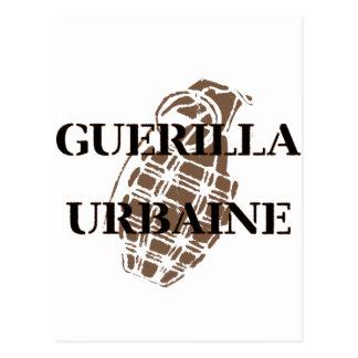 Guerilla Urbaine Postcard