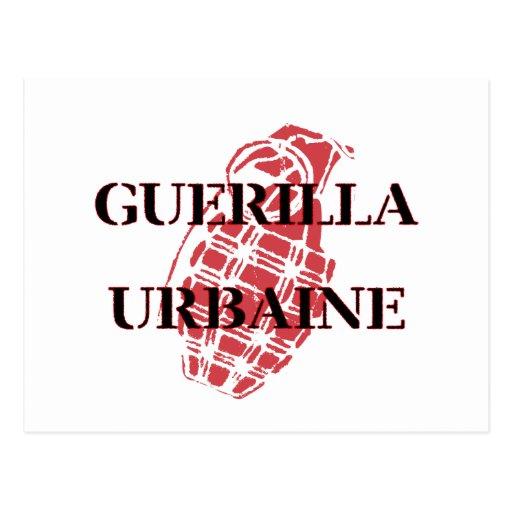 Guerilla Urbaine Post Cards