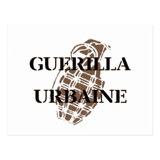 Guerilla Urbaine Postcards