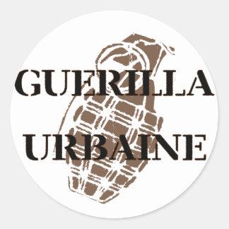 Guerilla Urbaine Round Sticker
