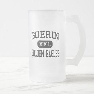 Guerin - Golden Eagles - Catholic - Noblesville Frosted Glass Beer Mug