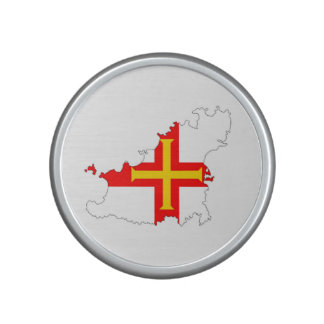 guernsey country flag map shape silhouette symbol bluetooth speaker