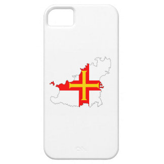guernsey country flag map shape silhouette symbol iPhone 5 cases