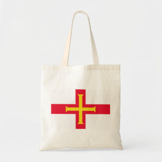 Guernsey Flag Tote Bags