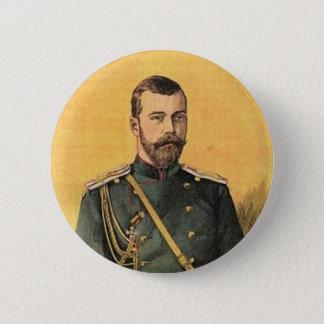 Guerre Russo-Japonaise vol 01 - Czar Nicholas 001 6 Cm Round Badge