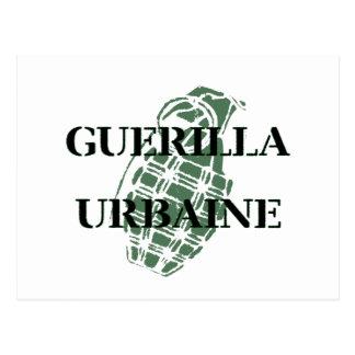 Guerrilla Urbaine Postcard