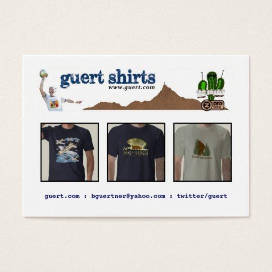 Guert Shirts Business Card