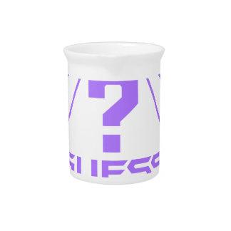 Guess ? pitcher