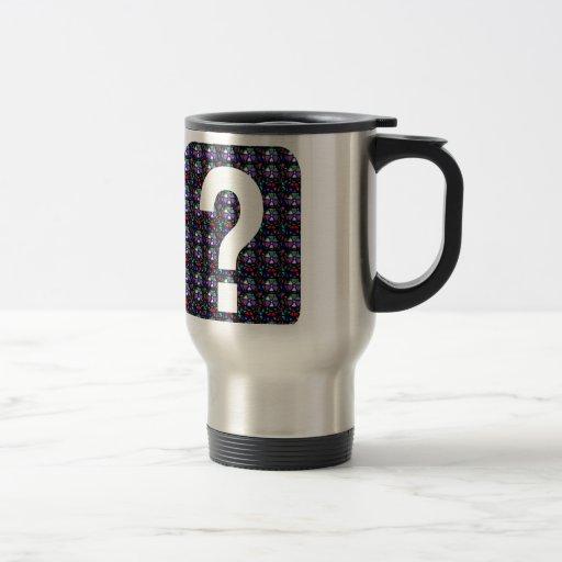 GUESS the GIFT question Symbol Art NVN543 ALL FUN Mugs