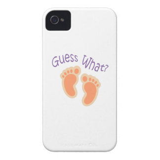 GUESS WHAT Case-Mate iPhone 4 CASE