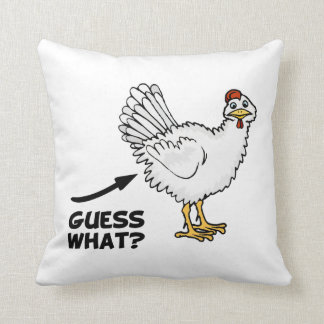 Guess What Chicken Butt Cushion