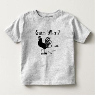 Guess What Chicken Butt funny joke Toddler T-Shirt