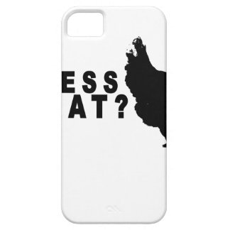 Guess What Chicken Butt T Shirt.png iPhone 5 Cover