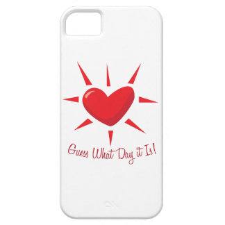Guess What Day iPhone 5/5S Case