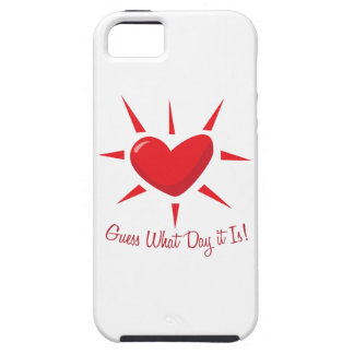 Guess What Day iPhone 5/5S Cover