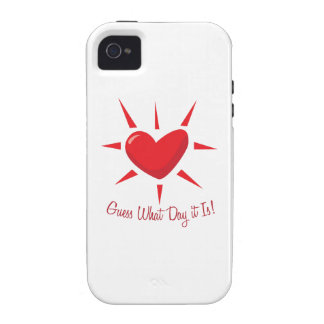 Guess What Day Case-Mate iPhone 4 Case