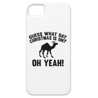 Guess What Day Christmas Is On? Oh Yeah! iPhone 5 Cover