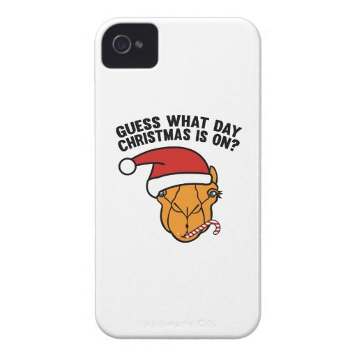 Guess What Day Christmas Is On? Oh Yeah! Case-Mate iPhone 4 Cases